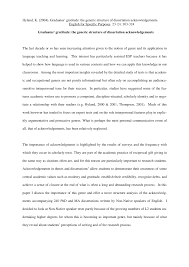 PDF Dissertations Acknowledgment Pattern Of Malaysian Post Graduates