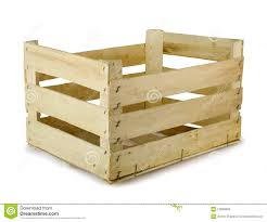 Wooden Crate Stock Image Of Packaging Fruit Blank
