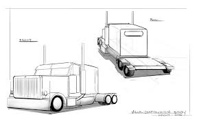 Semi-Truck Draw Through Perspective Assignment By Gordonfrohman01 On ... How To Draw A Pickup Truck Step 1 Cakepinscom Projects Scania Truck By Roxycloud On Deviantart Youtube A Simple Art For Kids Fire For Hub Drawing At Getdrawingscom Free Personal Use To Easy Incredible Learn Cars Coloring Pages Image By With Moving