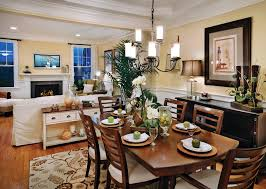 Harmonious Open Kitchen To Dining Room by Ridgewood At Middlebury The Denton Home Design