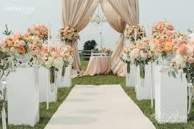 Wedding Program Luxury Flowers Toronto Country