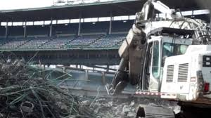 Crews Begin Bleacher Improvements At Wrigley Field | MLB.com