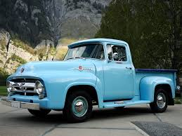 1956 Ford F-100 Custom Cab Pickup Retro H Wallpaper | 2048x1536 ...