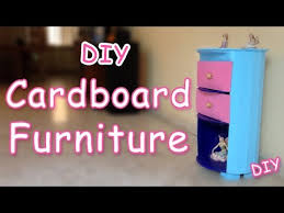 How to make Cardboard Furniture Ana