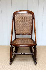 Fruitwood Rocking Chair - Antiques Atlas