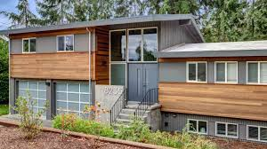100 Split Level Project Homes Modern Exterior Makeover Board Vellum