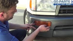 replace 1996 2002 toyota 4runner turn signal bulb how to change
