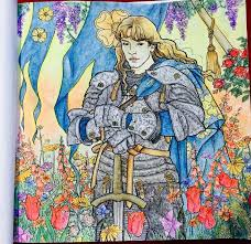 Sor Loras Tyrell Leather CraftPencil ArtColouring Book GamesColored PencilsGame Of ThronesHarry Potter