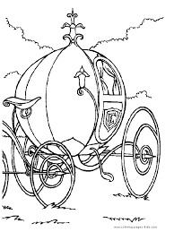 Cinderella Coloring Pages For Kids Disney