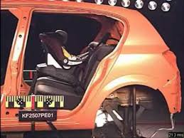 siege auto 1 2 3 crash test peg perego crash test primo viaggio adac front impact side view flv