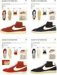 Vintage Nike Basketball Blazer Hi Top Suede