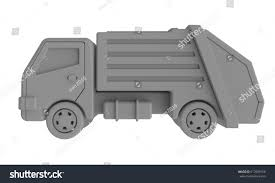 Rubbish Truck Stock Illustration 617099150 - Shutterstock