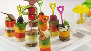 what does canape canapé makers presto foodstyle 4 shapes