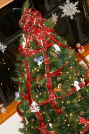 Bow For Top Of Christmas Tree