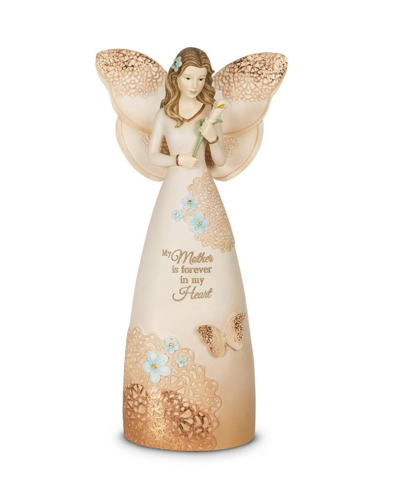 Pavilion Gift Company Light Your Way Memorial Mother Angel Figurine