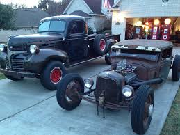 1946 Dodge And 1931 Ford Rat Rod Truck | Trucks | Pinterest | Dodge ... 1946 Dodge 12ton Pickup For Sale Classiccarscom Cc1104865 Other Chrysler Chevy Ford Gmc Packard Plymouth Wf 1 12 Ton Dump Truck 236 Flat Head 6 Cylinder Very Power Wagon Sale Near O Fallon Illinois 62269 Cc1126578 Information And Photos Momentcar Restored With Dcm Classics Help Blog Cc995187 2018 Ram 1500 Moritz Jeep Fort Worth Tx 1949 With A Cummins 6bt Diesel Engine Swap Depot Hot Rod