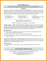 Law Enforcement Resume Templates Police Officer Resumes Best Template