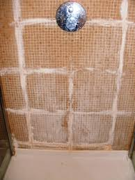 removing grout haze in a shower cubicle london nw1 central
