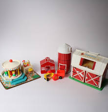 Vintage Fisher Price Barn With Animals And Merry-Go-Round Toys : EBTH Amazoncom Fisherprice Little People Fun Sounds Farm Vintage Fisher Price Play Family Red Barn W Doyourember Youtube Animal Donkey Cart Wspning Animals Mercari Buy Sell Things Toys Wallpapers Background Preschool Pretend Hobbies S Playset Farmer Hay Stackin Stable Walmartcom