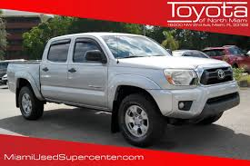 Pre-Owned 2013 Toyota Tacoma PreRunner Crew Cab Pickup In Miami ... Preowned 2014 Toyota Tacoma Sr5 Extended Cab Pickup T21144a Trucks For Sale Nationwide Autotrader New 2018 Trd Sport Double In Escondido Is A Truck Well Done Car Design News Pro Rare Cars Miramichi 2019 4wd Crew Gloucester 2016 Off Road Hiram For Garden City Ks 3tmcz5an0km198606 Tuscumbia Truck Of The Year Walkaround Sale Houston Tx Mike Calvert 2017 San Antonio