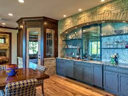 Teal Green Kitchen Cabinets by Rustic Blue Kitchen Cabinet Ideas With Glass Shelving And Nice
