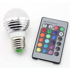 cheap 16 colors 3w remote e27 rgb led light bulb find 16