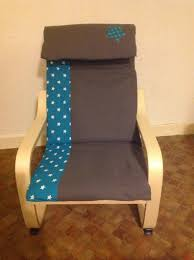 Poang Chair Cover Diy by Housse De Chaise Poang Couture Pinterest Craft