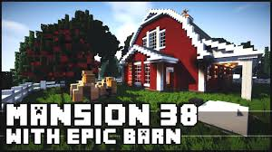 Minecraft - Mansion 38 With Epic Barn Design! - YouTube I Cided Need A Barn For My Animal Farm Minecraft How To Build Barn Creative Building Youtube The Barn House Tutorial A Compact Barnstables Album On Imgur Medieval Project Do You Like This Built Survival Mode Java Gaming Xbox Xbox360 Pc House Home Creative Mode Mojang Epic Massive Animal Screenshots Show Your Creation To Make Quick And Easy In
