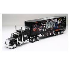 100 Toy Kenworth Trucks NewRay SS12453 KISS Rock Band Truck