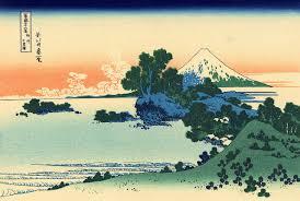 shichiri in sagami province jpg trente six vues du mont fuji