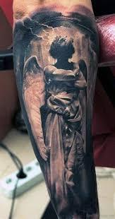 Angel Tattoo Design For Men