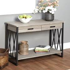 console tables walmart glass top table wood stand hallway