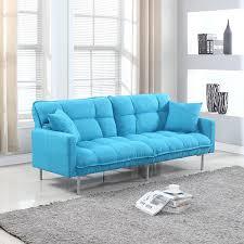 Mainstays Sofa Sleeper Weight Limit by Amazon Com Modern Plush Tufted Linen Fabric Sleeper Futon