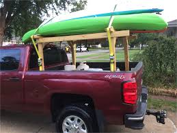 100 Kayak Truck Rack Homemade Topper Another View Of My Homemade