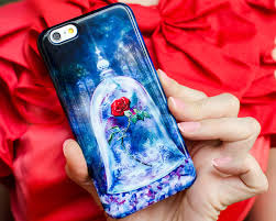 Beauty And The Beast Rose Pumpkin Stencil by Enchanted Rose Phone Case Beauty And The Beast 2017 For