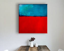 Canvas Print Of Painting Field Love Wall Decor