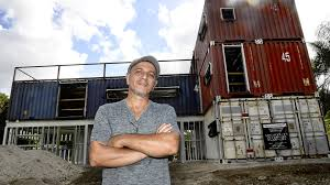 104 Building House Out Of Shipping Containers Is That A New Cargo Home On The Block South Florida Man From Eight South Florida Sun Sentinel South Florida Sun Sentinel