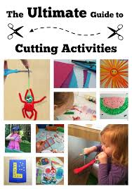 Ultimate Guide To Cutting Activities For Preschoolers And Kindergartners From Lalymom
