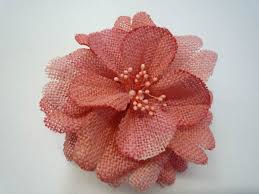 Textile Flowers Plus Free Fabric Flower Give Away