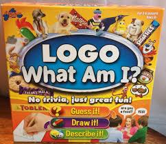 LOGO WHAT AM I BOARD GAME