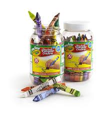 Crayola Bathtub Crayons 18 Vibrant Colors by Amazon Com Crayola My First Triangular Crayons In Storage