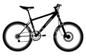 Mountain Bike Two Stock Vectors