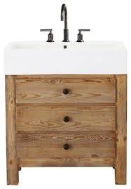 interesting pine vanity table with reclaimed wood bathroom vanity