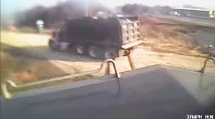 100 Dump Trucks Videos Truck Is Obliterated By Locomotive Cab View Train Fanatics