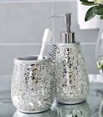 Purple Crackle Glass Bathroom Accessories by All Products Bath Bathroom Accessories Shower Accessories