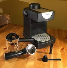 Krups 4 Cup Steam Espresso Maker FND1 With Box And Parts