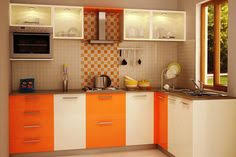small indian kitchen design in l shape Google Search