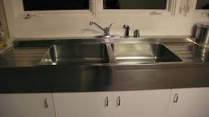 Stainless Steel Utility Sink With Drainboard by Vintage Double Sink With Drainboards I Love It Home