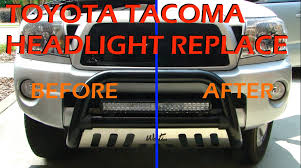 toyota tacoma headlight replacement 2005 2011