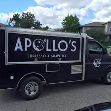 100 Shaved Ice Truck For Sale Apollos Expresso Shave Los Angeles Food S Roaming Hunger